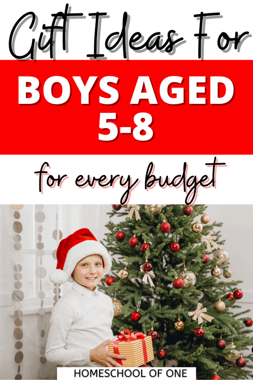 The best gift ideas for boys aged 5-8