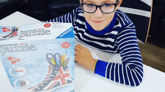 Why We Love Ravensburger 3D Puzzle – Union Jack Sneaker Review