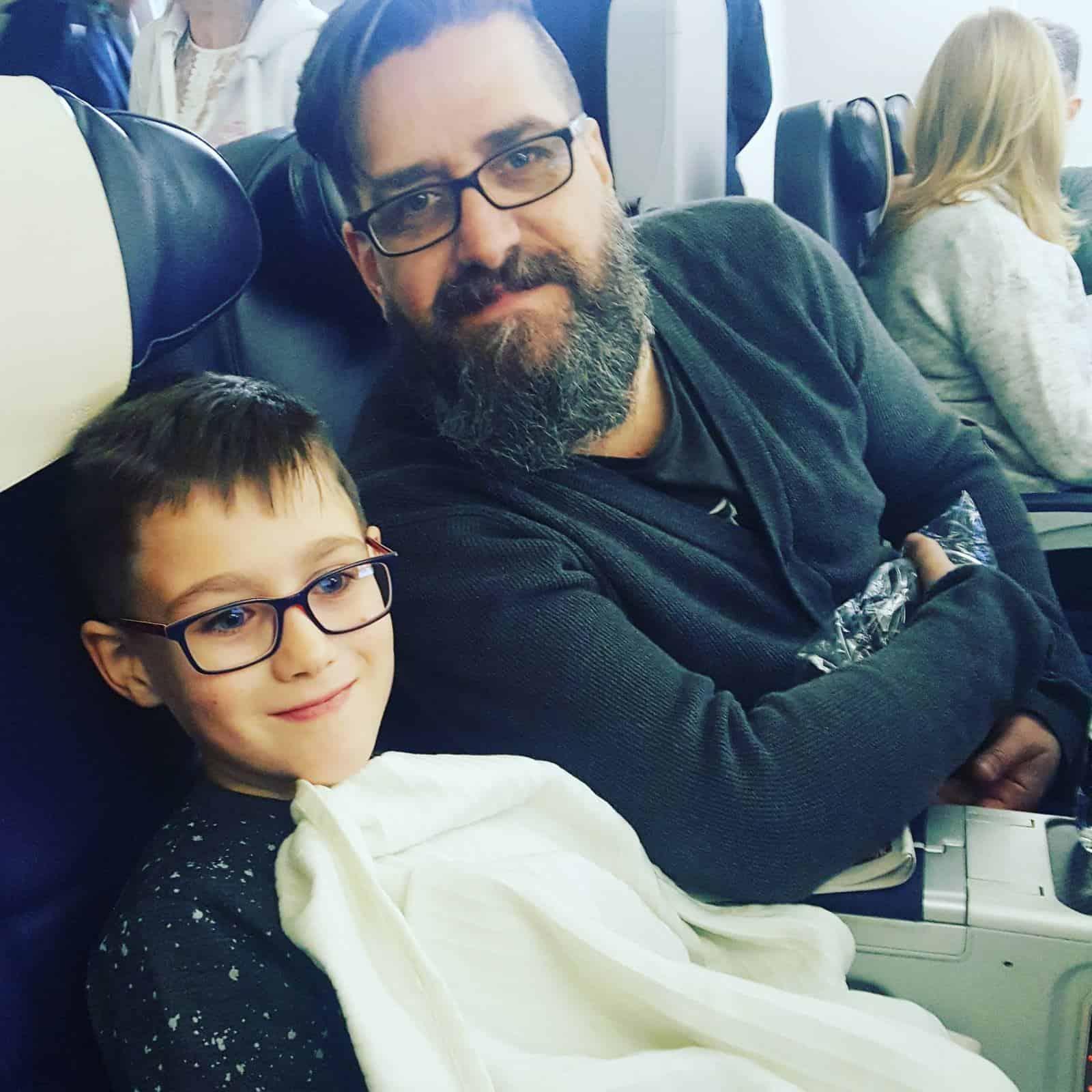 Flying with kids: Enjoying a long haul flight to Jamaica