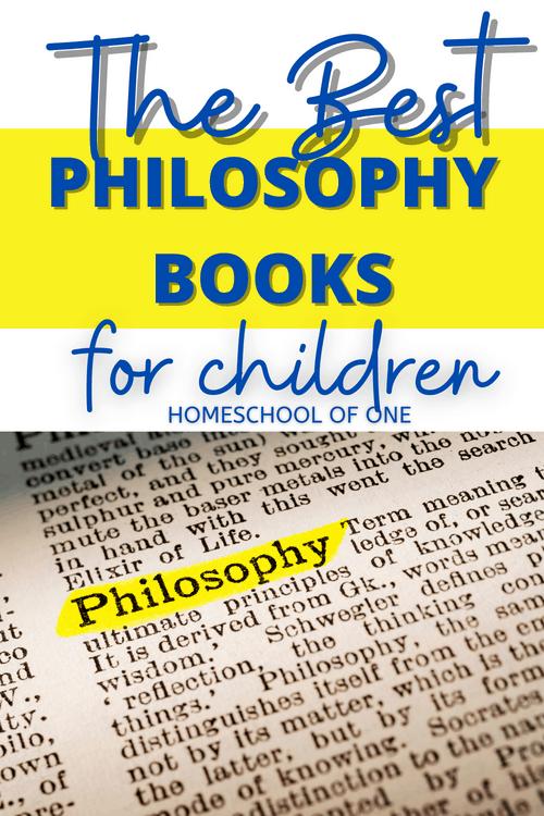 The best philosophy books for children #philosophy #kidsbooks