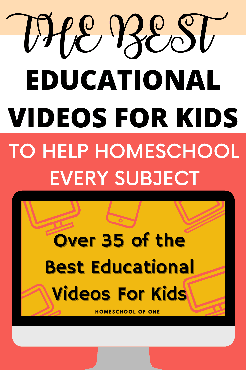 Over 35 of the best educational videos for kids to help with every subject in homeschool
