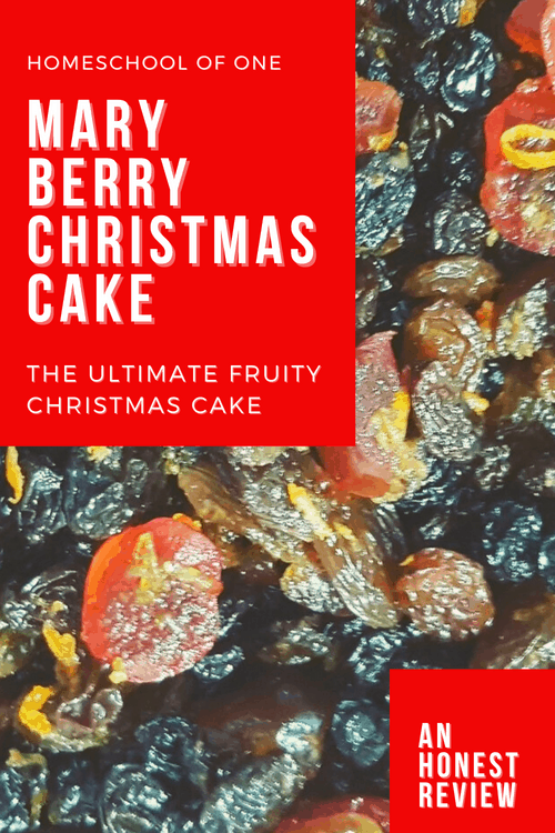 Mary Berry Christmas Cake is it worth the expense??