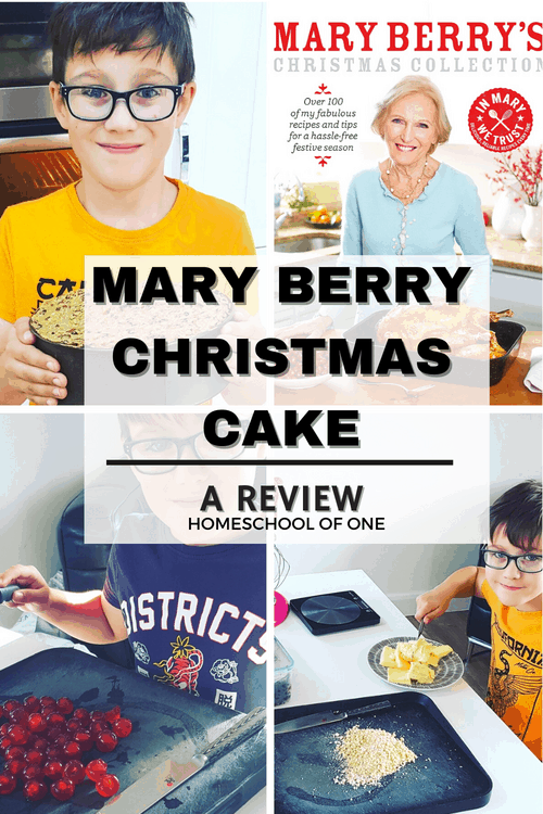 An honest review of the Mary Berry Christmas Cake