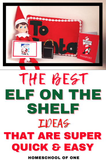 The best elf on the shelf ideas that are super quick and easy this Christmas