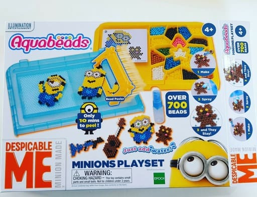 How To Encourage Creativity With Aquabeads Minions Playset