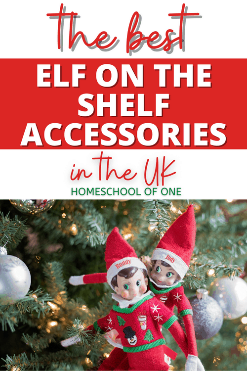 The best elf on the shelf accessories in the UK