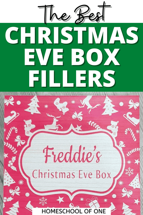 The best Christmas Eve Box Fillers - Ideas for Boys #christmasevebox