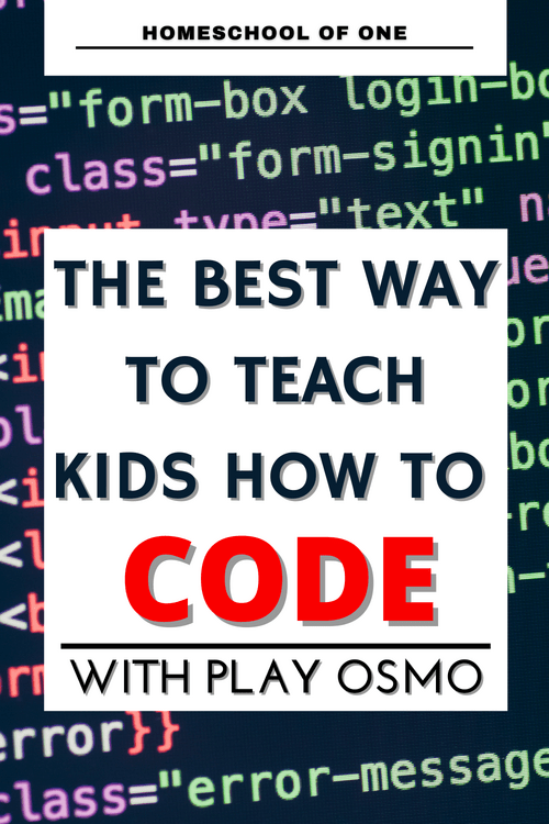 The best fun way to teach kids to code with Osmo Coding Starter Kits #coding #kidscoding #codinggames #PLAYOSMO