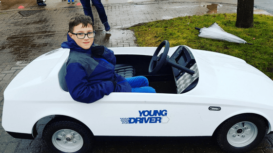 Kids Driving Lesson for an 8 Year Old with Young Drivers!