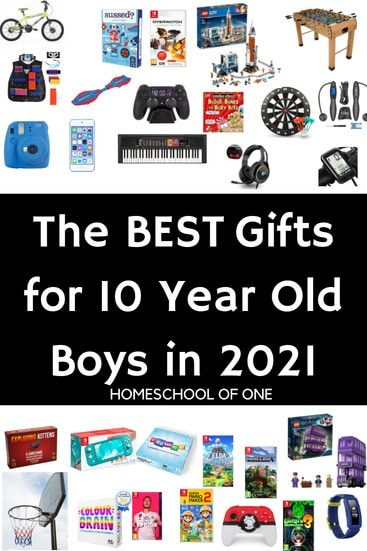 The best gifts for 10 year old boys in 2021, all kid approved so you are certain to get the best gift! #christmasgifts