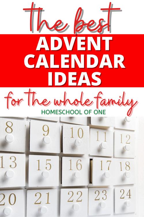 The best advent calendar ideas for the whole family #advent