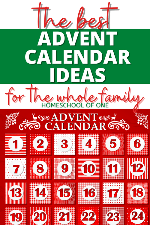 The best advent calendar ideas for adults and kids #adventcalendar