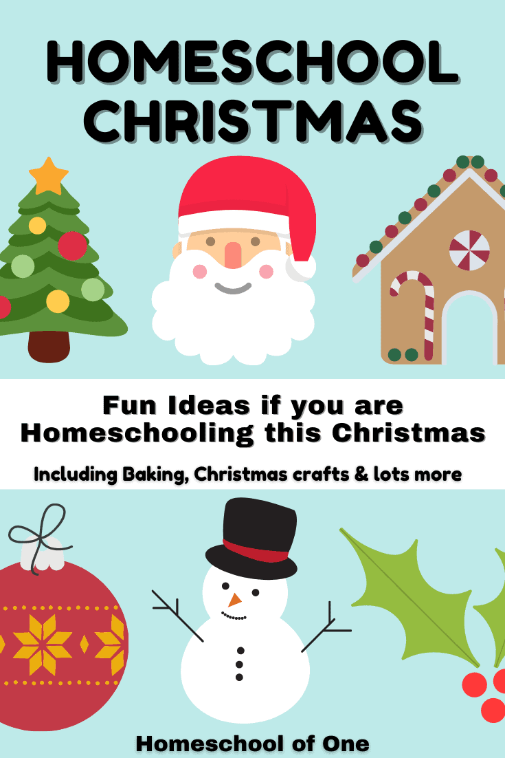 Christmas Activities for Families and Homeschoolers