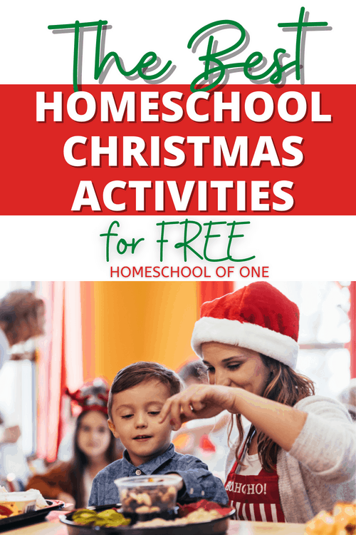 The best homeschool Christmas activities you can do this season for FREE