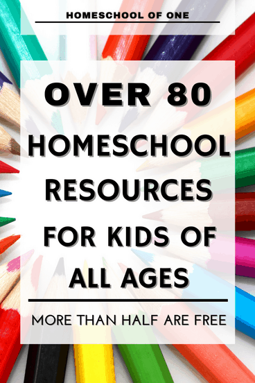 Over 80 home school UK resources for kids of all ages. More than half of these are FREE