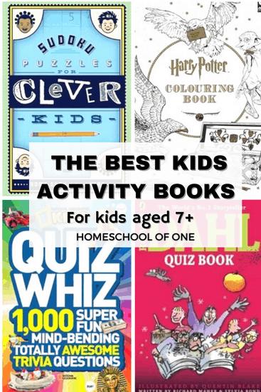 The best kids activity books