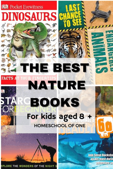The best nature books for tweens