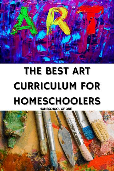 the best art curriculum for homeschool kids #art #artcurriculum #homeschool