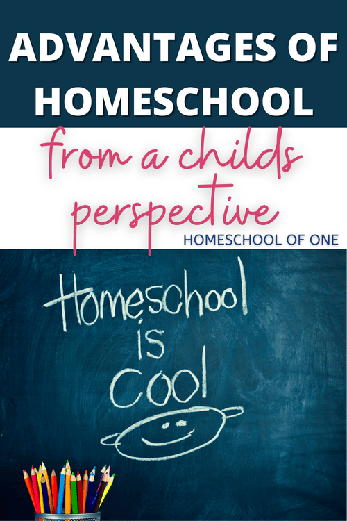 Advantages of homeschool from a childs perspective  #homeschool