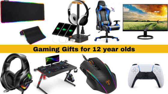 Gaming Gifts for 12 year old boy gamer
