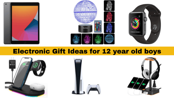 Electronic Gift Ideas for 12 year old boys