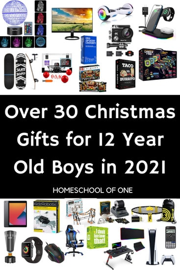 Over 30 of the best Christmas gifts for 12 year old boys