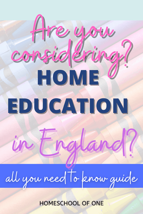 Are you considering home education in the UK? Check out this all you need to know guide to help
