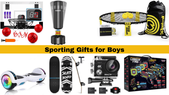 Sports Gifts for 12 year old boys