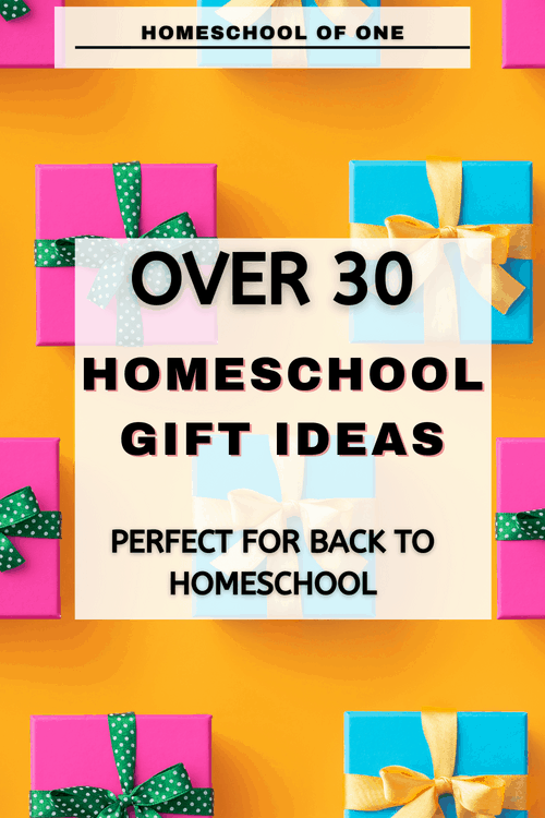 Over 30 homeschool gift ideas perfect for back to homeschool #homeschool #kidsgifts