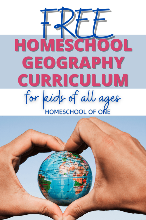 FREE Geography curriculum for homeschool families