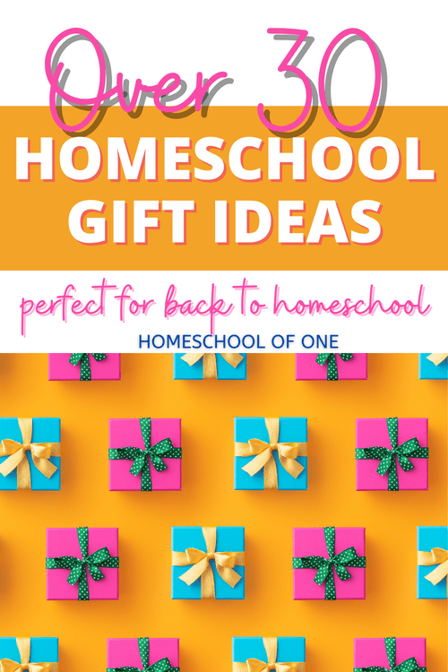 Over 30 homeschool gift ideas perfect for back to school   #homeschool #kidsgifts