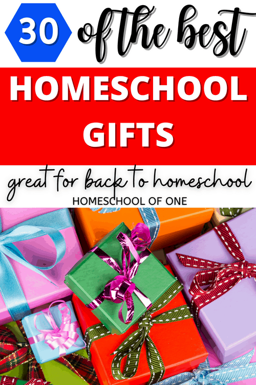 Homeschool gift ideas great for the first day back to homeschool #backtoschool #gifts