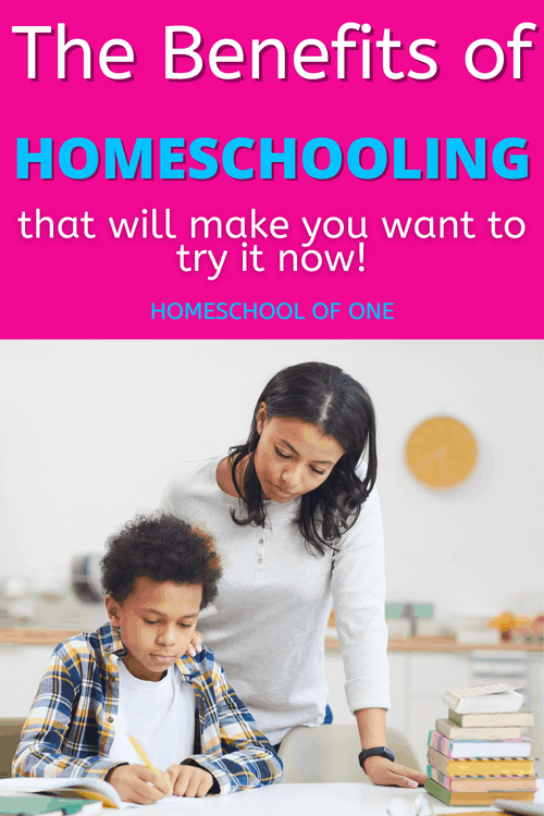 The benefits of homeschooling that will make you want to start now #homeschooling