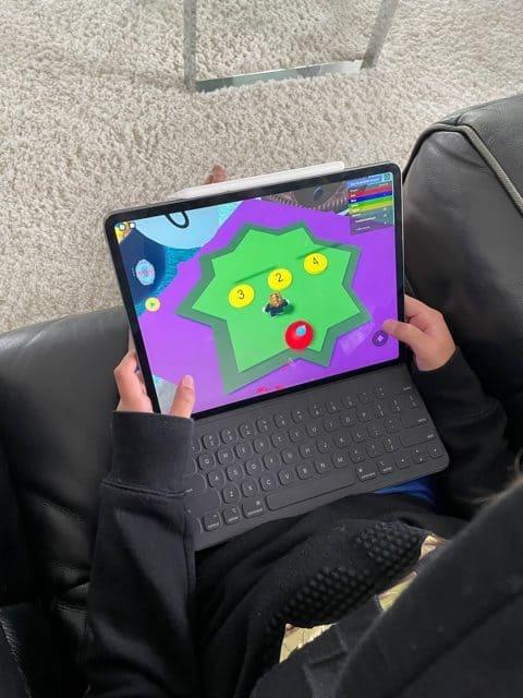 Playing Brainika Math on Roblox Answer