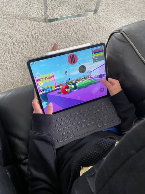 Playing Brainika Math on Roblox
