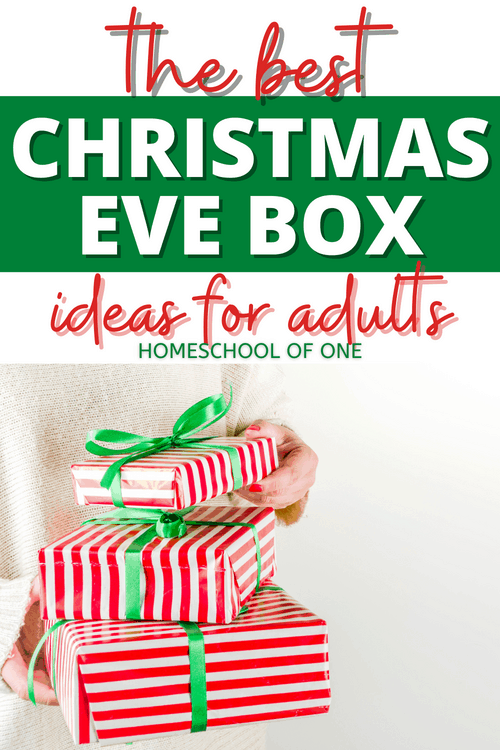 Why should children get all the fun this Christmas! Check out our favorite Christmas Eve box ideas for adults
