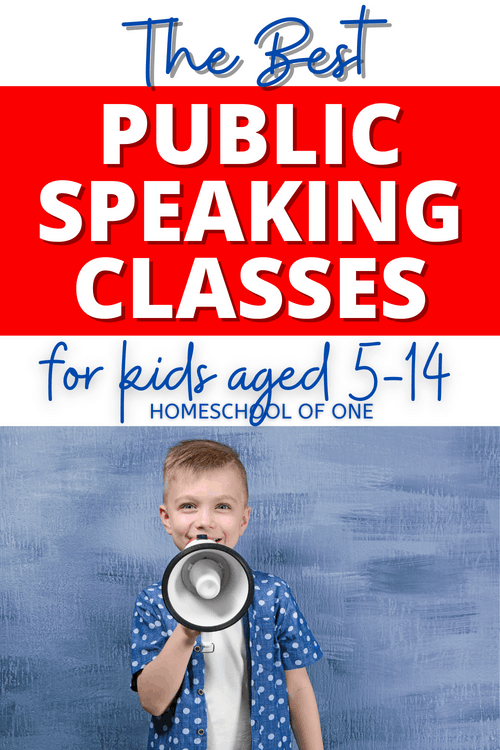 The best public speaking for kids classes online. Start this skill as early as possible for the best success.