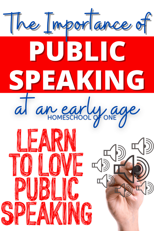 The importance of public speaking at an early age. It is so important to teach public speaking skills at an early age