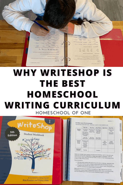 Why WriteShop is the best homeschool writing curriculum for kids of ALL ages