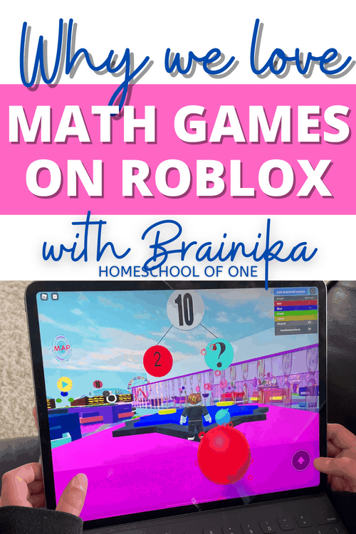 Cool math games on Roblox with Brainika. A math game for kids in grades K-2