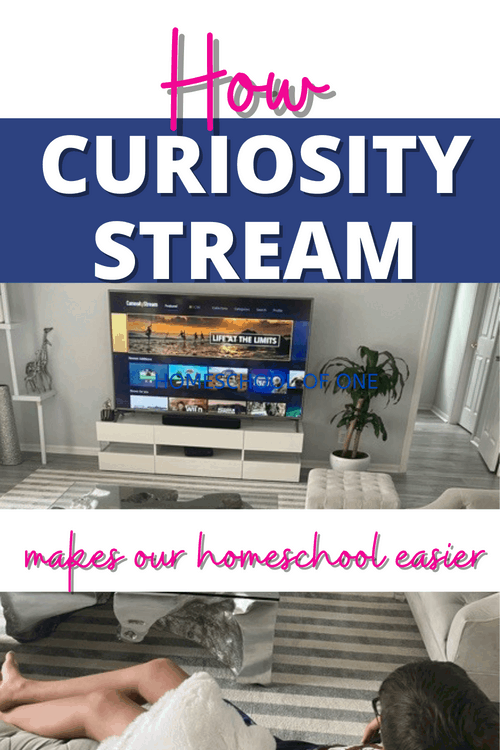 How curiosity stream makes our homeschool run easier! #videostraming #documentaries