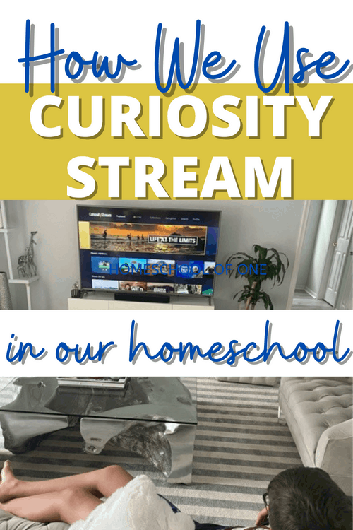 How We Use Curiosity Stream in Our Homeschool #curiositystream #homeschool