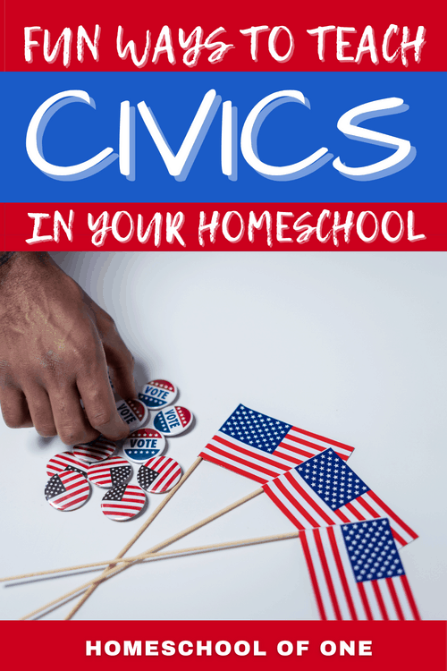10 Fun ways to civics in your homeschool.