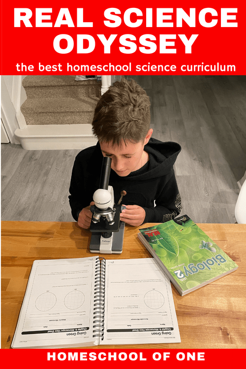 Why Real Science Odyssey by Pandia Press is the BEST homeschool secular science curriculum. Check out our review of Biology 2 #science #homeschool