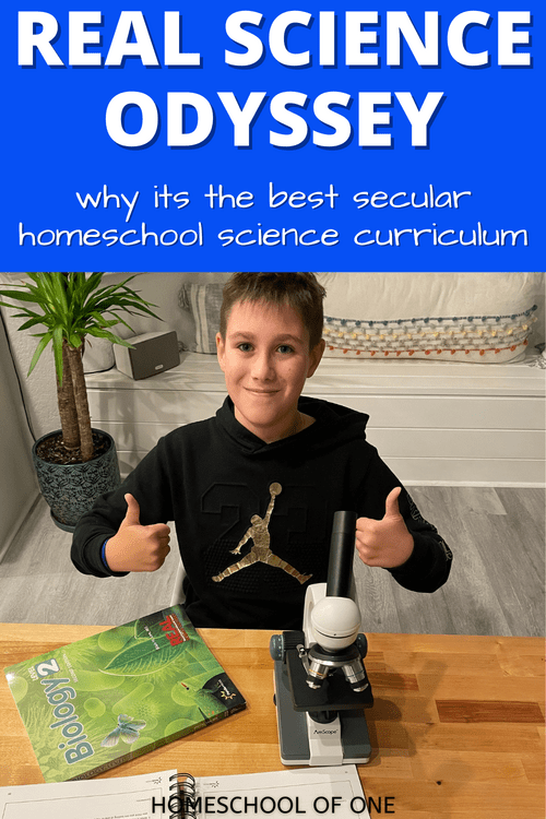 Real Science Odyssey really is the best secular homeschool science curriculum. Check out our review of Biology 2 #science #homeschool