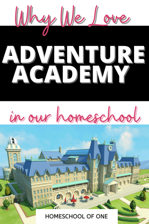 Why we love Adventure Academy in our homeschool, from a mom and her sons point of view #adventureacademy #homeschool