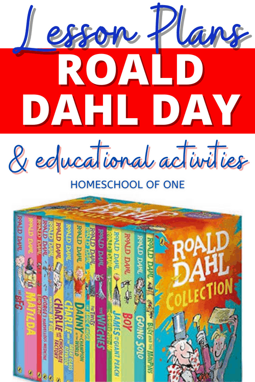 How to celebrate Roald Dahl day, with over 36 fun activities including lesson plans, coloring fun, baking and lots more #roalddahl #roalddahlday #kidsbooks