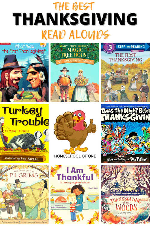 The best Thanksgiving Read Alouds perfect for the whole family #thanksgiving #kidsbooks #readalouds