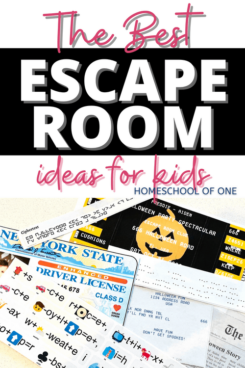 Escape room ideas for kids that are easy to create and look amazing! #escaperoom