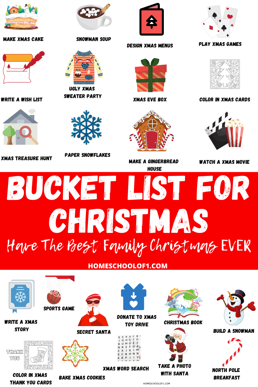 The Best Bucket list for Christmas that you can do together as a family this December #bucketlist #christmas